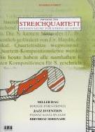 Modern Music for String Quartet Manfred Schmitz Score & Parts