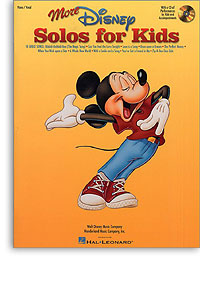 More Disney Solos for Kids pvg Book & CD