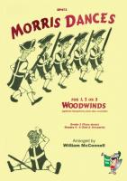 Morris Dances for 1, 2, or 3 Woodwind instruments