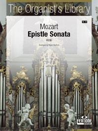 Mozart Epistle Sonata K336 for Organ 'The Organist's Library'