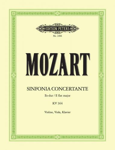 Mozart Sinfonia Concertante in E flat major K364 for Violin, Viola and Piano