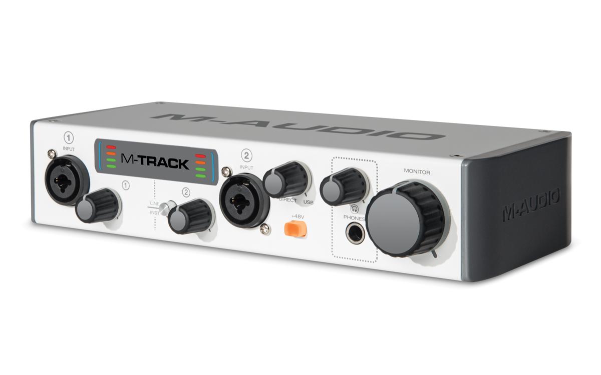 M-Audio M-Track II - 2 Channel USB Audio Recording Interface