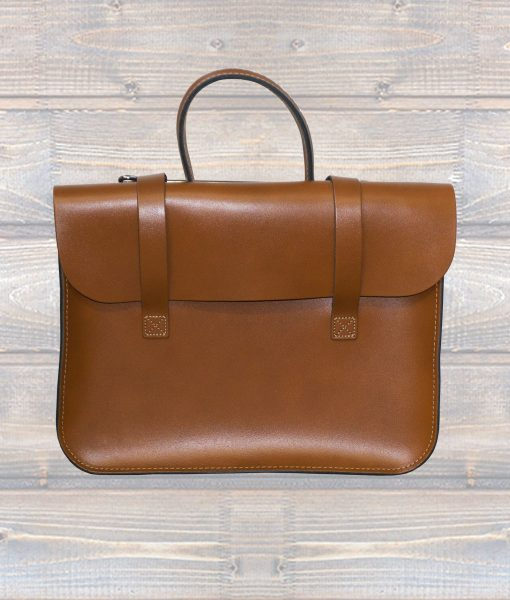 Music Case Leather - London Tan (Leathergraft)