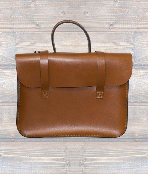 Music Case Leather - London Tan (Leathergraft)