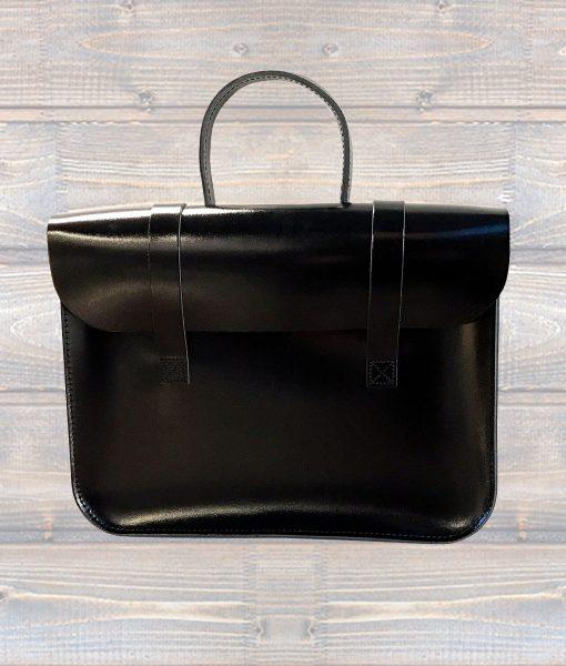 Music Case Leather Black (Leathergraft)