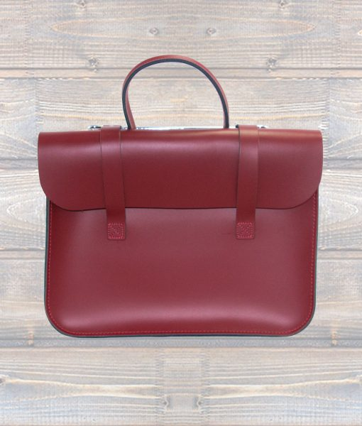 Music Case Leather Red (Leathergraft0
