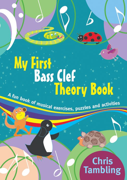 My First Bass Clef Theory Book Christopher Tambling