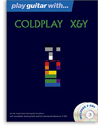 Play guitar with Coldplay Book & 2CD