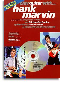 Marvin, Hank Play Guitar with, book & CD Tablature