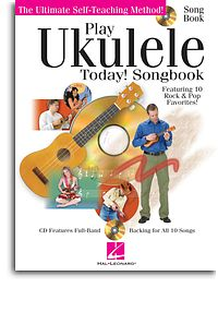 Play Ukulele Today! Songbook Book& CD -10 Rock & Pop Favourites