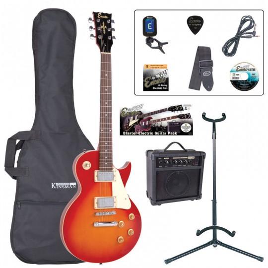 Encore E99 Electric Guitar Pack - Cherry Sunburst