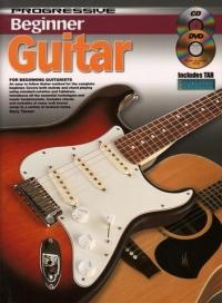 Progressive Beginner Guitar Book & CD & DVD
