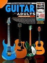 Progressive Guitar for Adults book/3dvd/cd Turner & Gelling