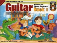 Progressive Guitar for Young Beginners Book 1 BCD/DVD