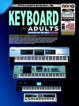 Progressive Keyboard for Adults book & 3dvd/cd
