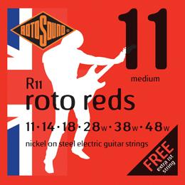 Rotosound R11 - Roto Reds - 11 - 48