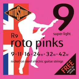 Rotosound R9 - Roto Pinks - 9 - 42