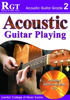 RGT Acoustic guitar playing grade 2 bcd