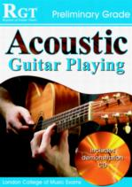 RGT Acoustic Guitar playing Preliminary Grade Book & CD