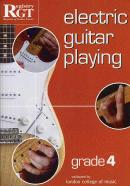 RGT Electric Guitar Playing Grade 4 LCM