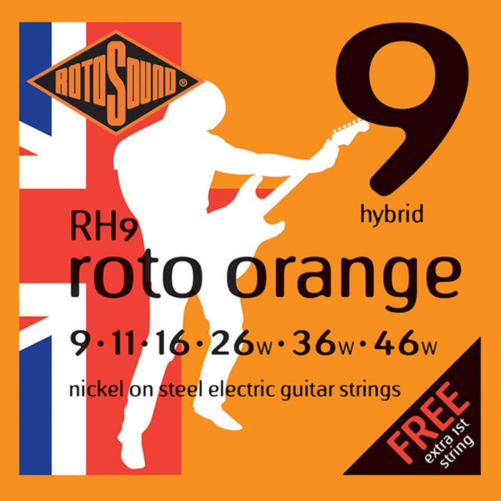 Rotosound RH9 - Roto Pinks - 9 - 46