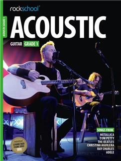 Rockschool Acoustic Guitar Grade 1 2016 Book & Audio download