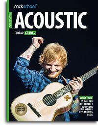 Rockschool Acoustic Guitar Grade 2 2016 Book & Online Audio
