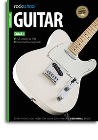 Rockschool Guitar grade 1 2012-2018 book & Audio