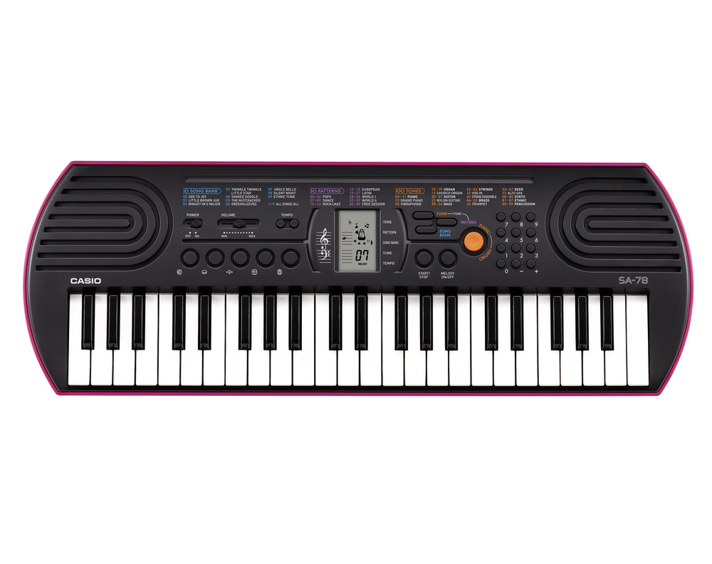 Casio SA-78 Mini Keyboard