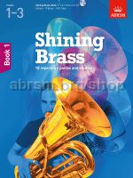 Shining Brass, Book 1, for all brass instruments with CD