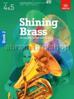 Shining Brass Book 2 Grades 4-5 for all Brass Instruments, with 2 CDs