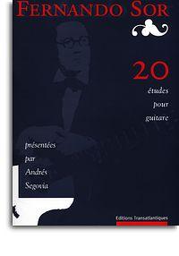 Fernando Sor: 20 Études for Guitar