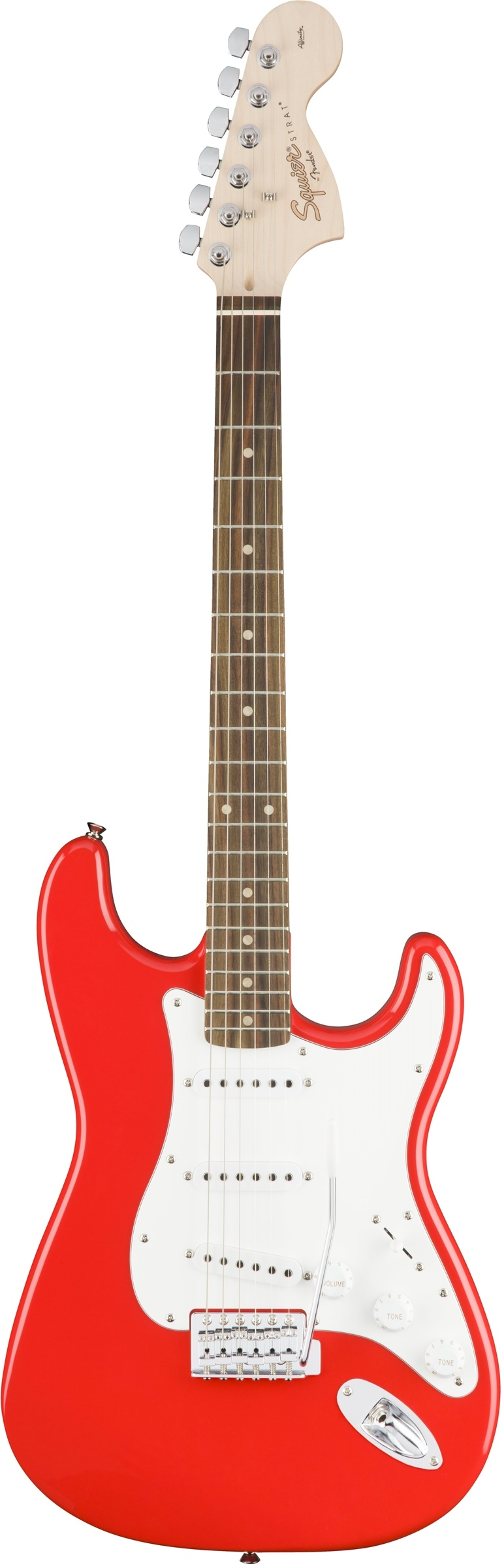 Squier Affinity Series Stratocaster - Race Red - Rosewood Fretboard