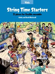 String Time Starters- Viola book Blackwell