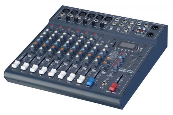 Studiomaster 8-channel 10-input Mixer CLUBxS10