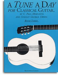 Tune a Day for Classical Guitar book 3