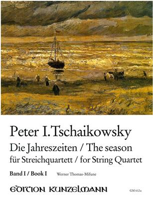 Tchaikovsky The Seasons for String Quartet book 1