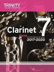 Trinity Clarinet Exam 2017-2020 score & part Grade 7