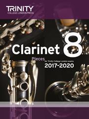 Trinity Clarinet Exam 2017-2020 score & part Grade 8