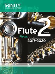 Trinity Flute Exam 2017-2020 score & part grade 2
