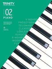 Trinity Piano Exam 2018-2020 Grade 2 Book & CD