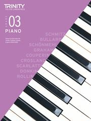 Trinity Piano Exam 2018-2020 Grade 3 Book & CD