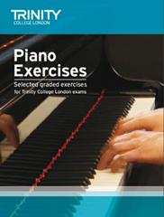 Trinity Piano Exercises grades Initial to 8