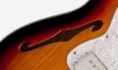 Squier Vintage Modified 72 Thinline - 3T-Sunburst