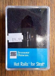 Seymour Duncan - SHR-1B - Hot Rails for Strat - Bridge - Black