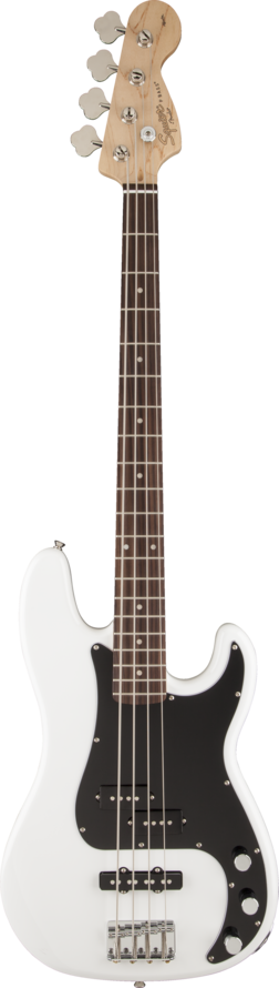 Squier Affinty PJ Bass - Olympic White
