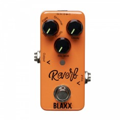 BLAXX Reverb pedal for electric guitar, with 4 different modes