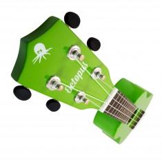 Octopus Soprano Ukulele - High Gloss Series - Green