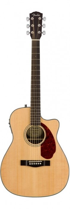 Fender CC-140SCE with case - Natural