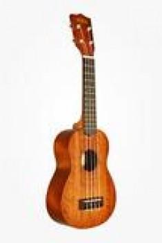 Kala Satin Mahogany Soprano Ukulele - KA15S
